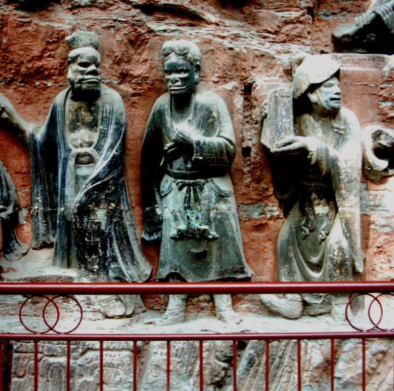 Dazu Stone Carving