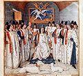 De Ridders van Sint Michael rondom hun Koning.jpg