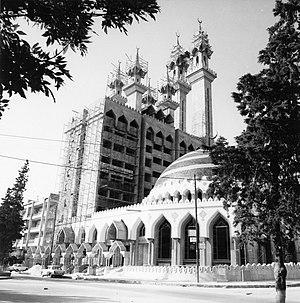 Ar-Rahman Mosque - Image: De moskee Ar Rahman in aanbouw Stichting Nationaal Museum van Wereldculturen TM 20011815