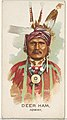 Deer Ham, Ioway, from the American Indian Chiefs series (N2) for Allen & Ginter Cigarettes Brands MET DP828005.jpg