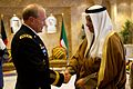 Defense.gov News Photo 111214-D-VO565-005 - Kuwaiti Prime Minister Sheikh Jaber Mubarak Al-Sabah greets Chairman of the Joint Chiefs of Staff Gen. Martin E. Dempsey for a meeting in Kuwait.jpg