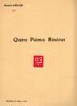 Delage - Quatre poèmes hindous.PNG