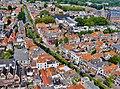 Delft Blick von der Nieuwe Kerk auf die Grachten 2.jpg
