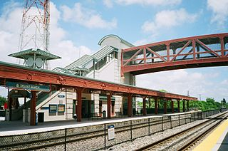Delray Beach station railway station in Florida