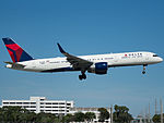 Delta Air Lines Boeing 757-232 (N6711M) at Miami International Airport.jpg