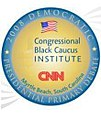 Democratic presidential debate sponsored by CNN and the Congressional Black Caucus Institute on January 21, 2008.jpg