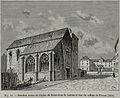Derniers restes de l'église de Saint-Jean de Latran et vue du Collège de France, 1854.jpg