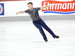Derrick Delmore American figure skater