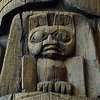 Detail of Haida Pole (Fox Warren).jpg