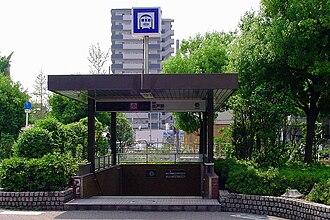 Deto Station - Station entrance
