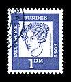 Deutsche Bundespost - Bedeutende Deutsche - Annette von Droste-Huelshoff - 1 Deutsche Mark.jpg