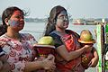 Devotees - Durga Idol Immersion Ceremony - Baja Kadamtala Ghat - Kolkata 2012-10-24 1540.JPG