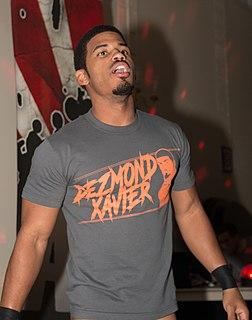 Dezmond Xavier American professional wrestler