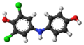 Dichlorophenolindophenol (reduced) 3D ball.png