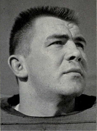1953 Michigan Wolverines football team - Dick O'Shaughnessy, captain of the 1953 team