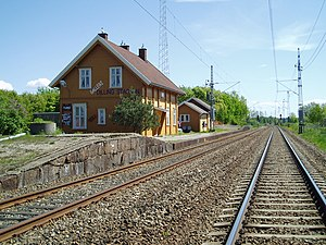 Dilling Station - Image: Dilling Train Station