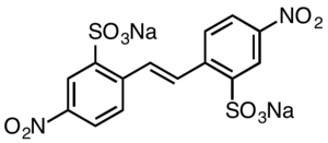 Disodium 4,4'-dinitrostilbene-2,2'-disulfonate - Image: Dinitrostilbenedisul fonate Na 2
