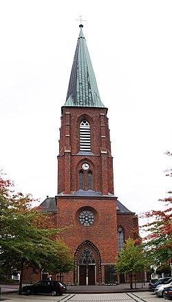 Dinklage St Catharina Turm pano.jpg