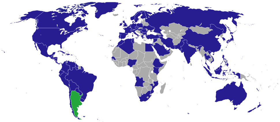 Diplomatic missions of Argentina