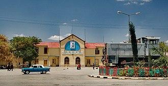 Ethio-Djibouti Railways - Present station of the Djibouti-Ethiopia Railway in Dire Dawa.