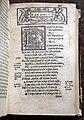 Divina commedia... ridotta a miglior lezione dagli accademici della crusca, per domenico manzani, firenze 1595, 06 inizio paradiso ed emblema avvampato.jpg