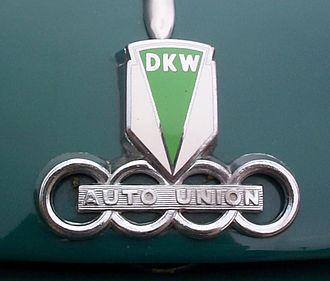 DKW - The logotype of DKW Auto Union