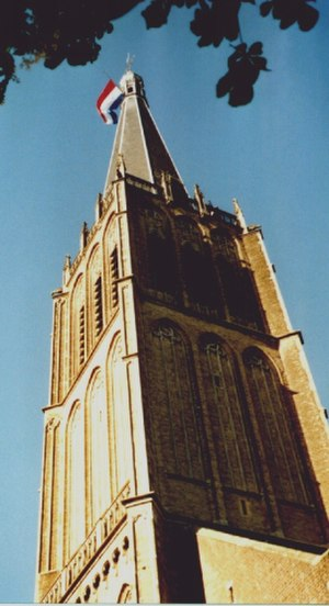 Martinikerk (Doesburg) - Tower of the Sint Martinuskerk