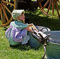 Doing Her Chores, Oak Glen, CA (14524498780).jpg