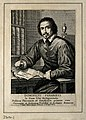 Domenico Panaroli. Line engraving by G. M. Testana after him Wellcome V0004439.jpg