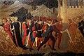 Domenico di michelino (attr.), storie dei greci e delle amazzoni con il ratto di antiope da parte di teseo, 1440-50 ca. 03.jpg