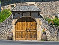 Door of the barn at La Croix d'Antoine.jpg