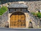 Door of the barn at La Croix d'Antoine.jpg