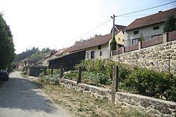 Down part of Baliny, Žďár nad Sázavou District.JPG