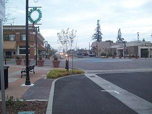 Riverbank, California - Downtown Riverbank (Third Street)