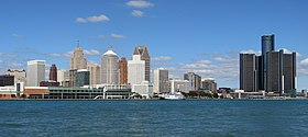 Downtown Detroit, Michigan from Windsor, Ontario (21760963102).jpg