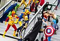 Dragon Con 2013 - JLA vs Avengers Shoot (9668222891).jpg