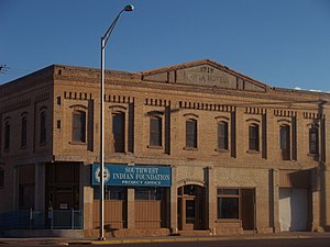 National Register of Historic Places listings in McKinley County, New Mexico - Image: Drake Hotel 09 13 12