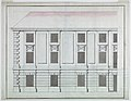 Drawing, Elevation of the section of a façade of a small palace, ca. 1750 (CH 18308945).jpg