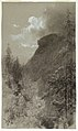 Drawing, Old Man of the Mountain, New Hampshire, August 30, 1876 (CH 18300293).jpg