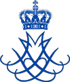 Dual Cypher of Margrethe and Henrik of Denmark.svg