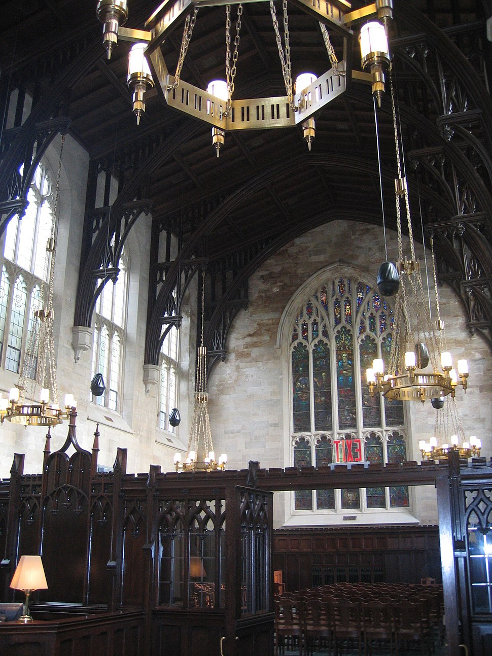 Duane Library interior