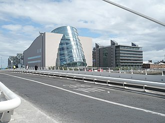 International Financial Services Centre - Convention Centre and PwC HQ (IFSC, Spencer Dock, North Wall)