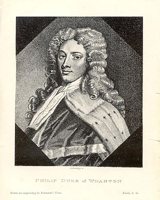 Philip Wharton, 1st Duke of Wharton - The Duke of Wharton.
