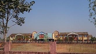 Dumka railway station - Image: Dumka Rly. Station