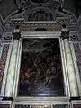 Duomo di colle, int., cappelle di sx, 04, altare San Marziale resuscita Austricliniano di Giovanni Paolo Melchiorri, 1694, 01.JPG