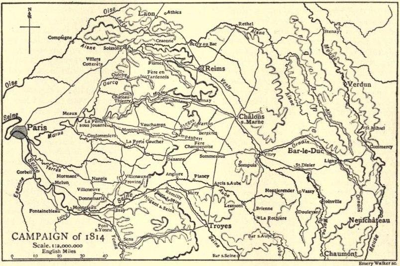 EB1911-19-0232-a-Napolonic Campaigns, Campaign of 1814