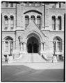 ENTRANCE DETAIL - Richmond City Hall, 1001 East Broad Street, Richmond, Independent City, VA HABS VA,44-RICH,99-5.tif