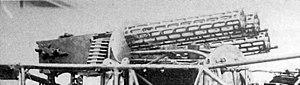 Fokker E.IV - Trio of lMG 08 Machine guns reportedly on Kurt Wintgens' E.IV