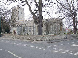 Eastchurch village in United Kingdom