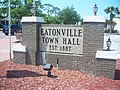 Eatonville FL town hall sign01.jpg